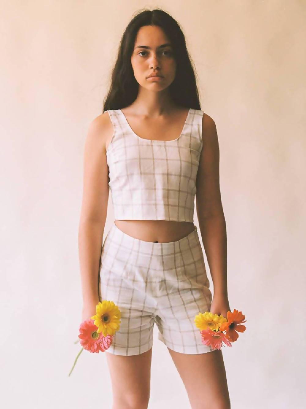 Aniela Parys Checked Suru Shorts