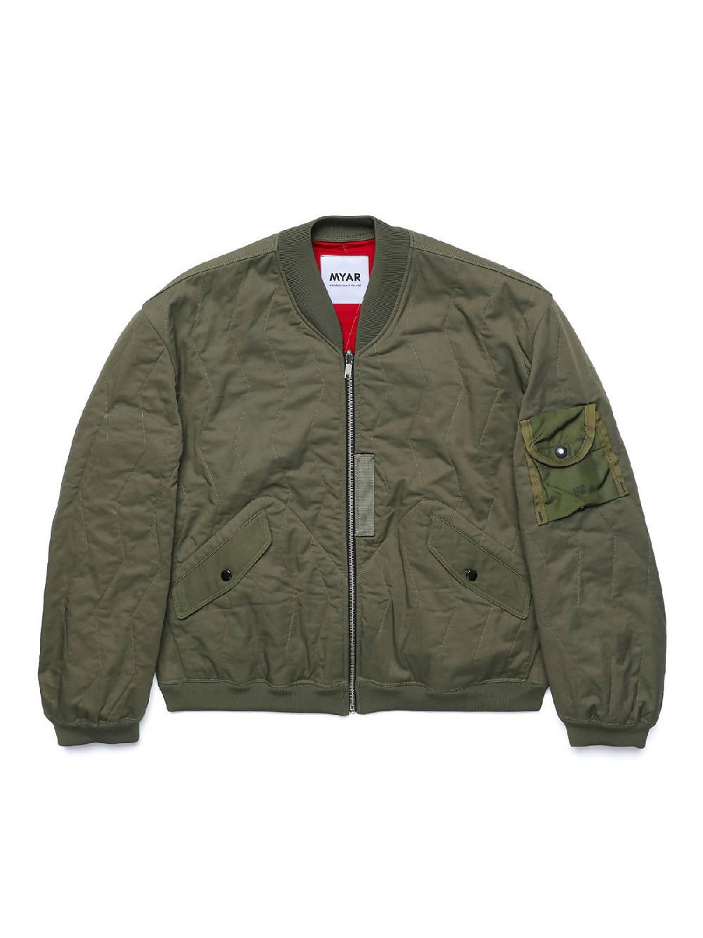 MYAR MYJC12 Reversible Green Flying Jacket