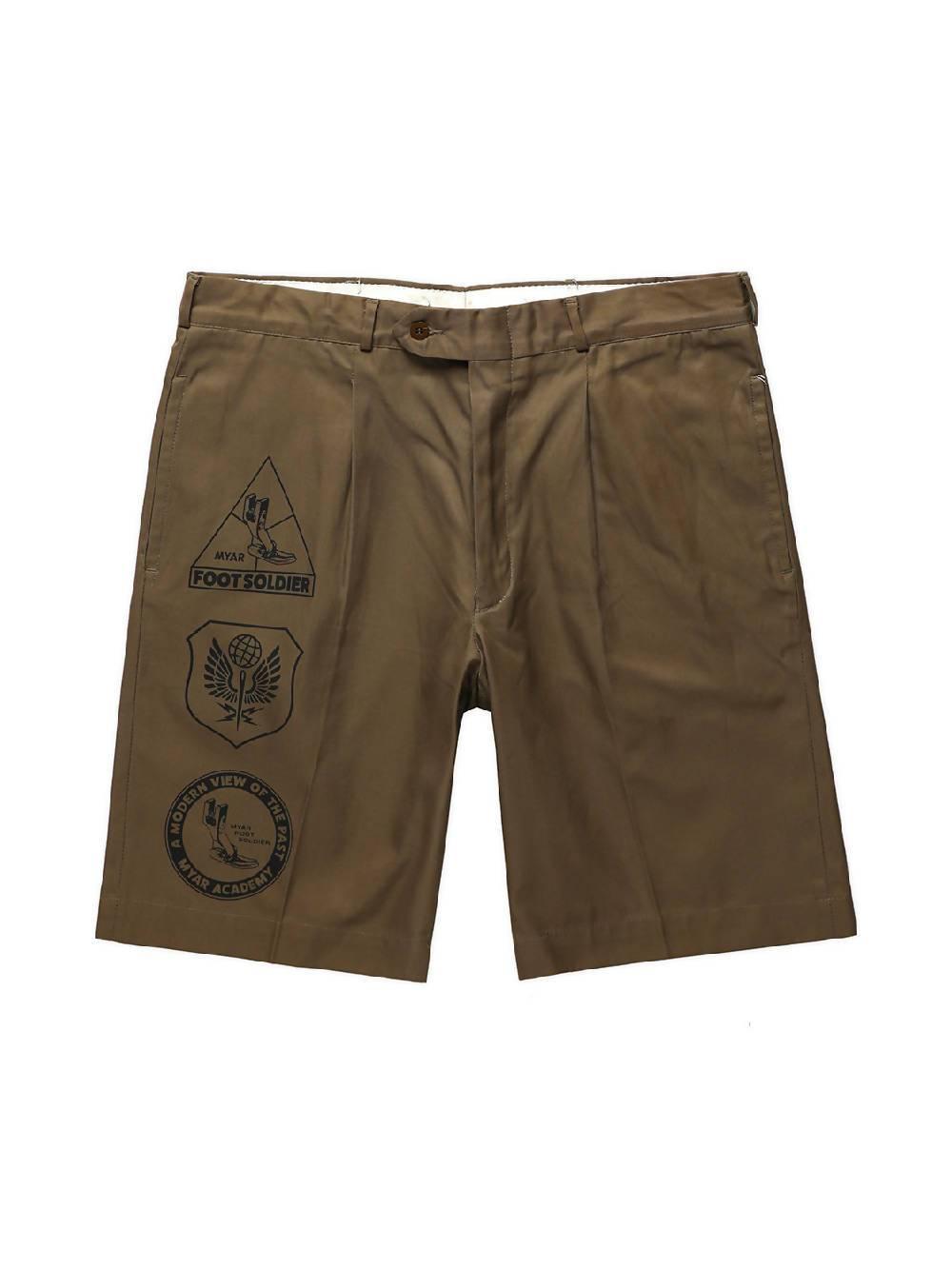 MYAR Khaki ITSRT9A Shorts