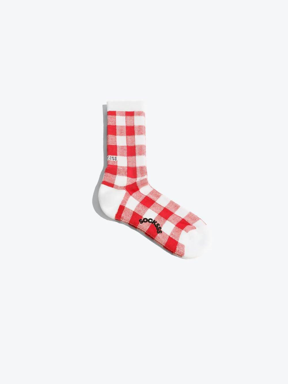 SOCKSSS Red Fratelli Organic Sock