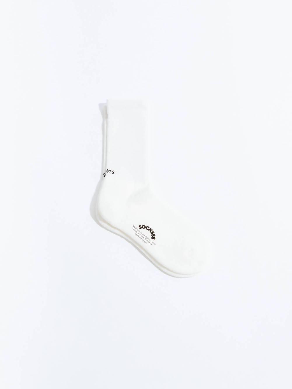 Socksss Snow White Organic Sock