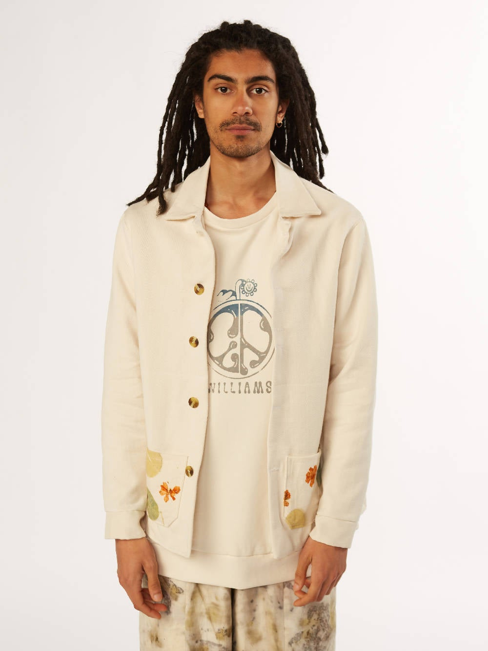 E A Williams Naturally dyed Unisex Jacket