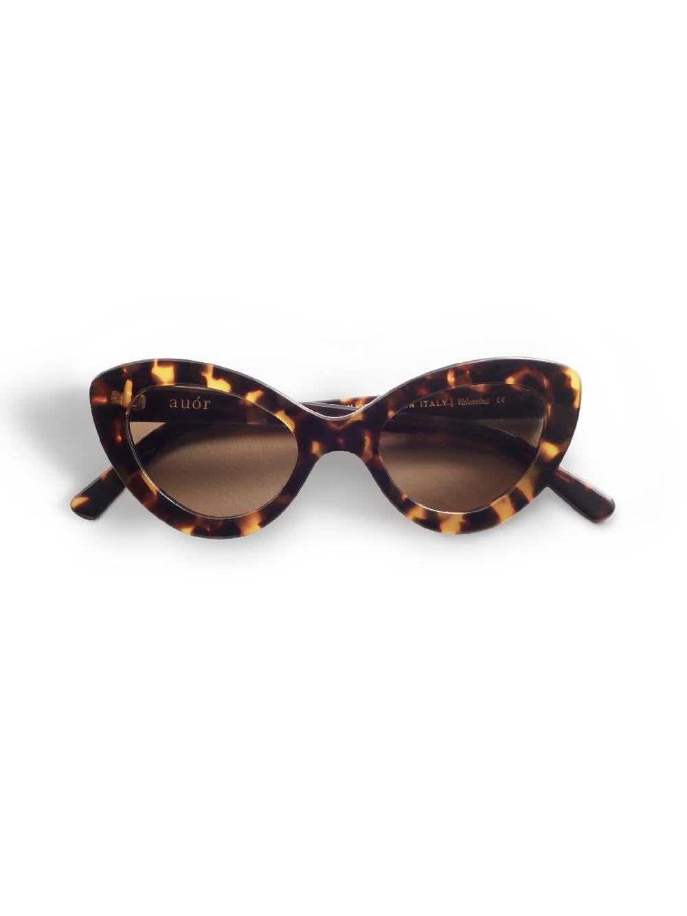 Auor Sunglasses Valentina Tort Brown