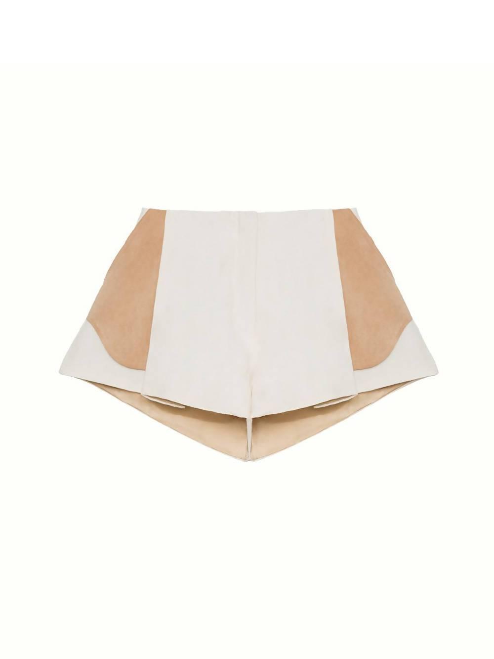 SONIA CARRASCO Folded Pocket Shorts