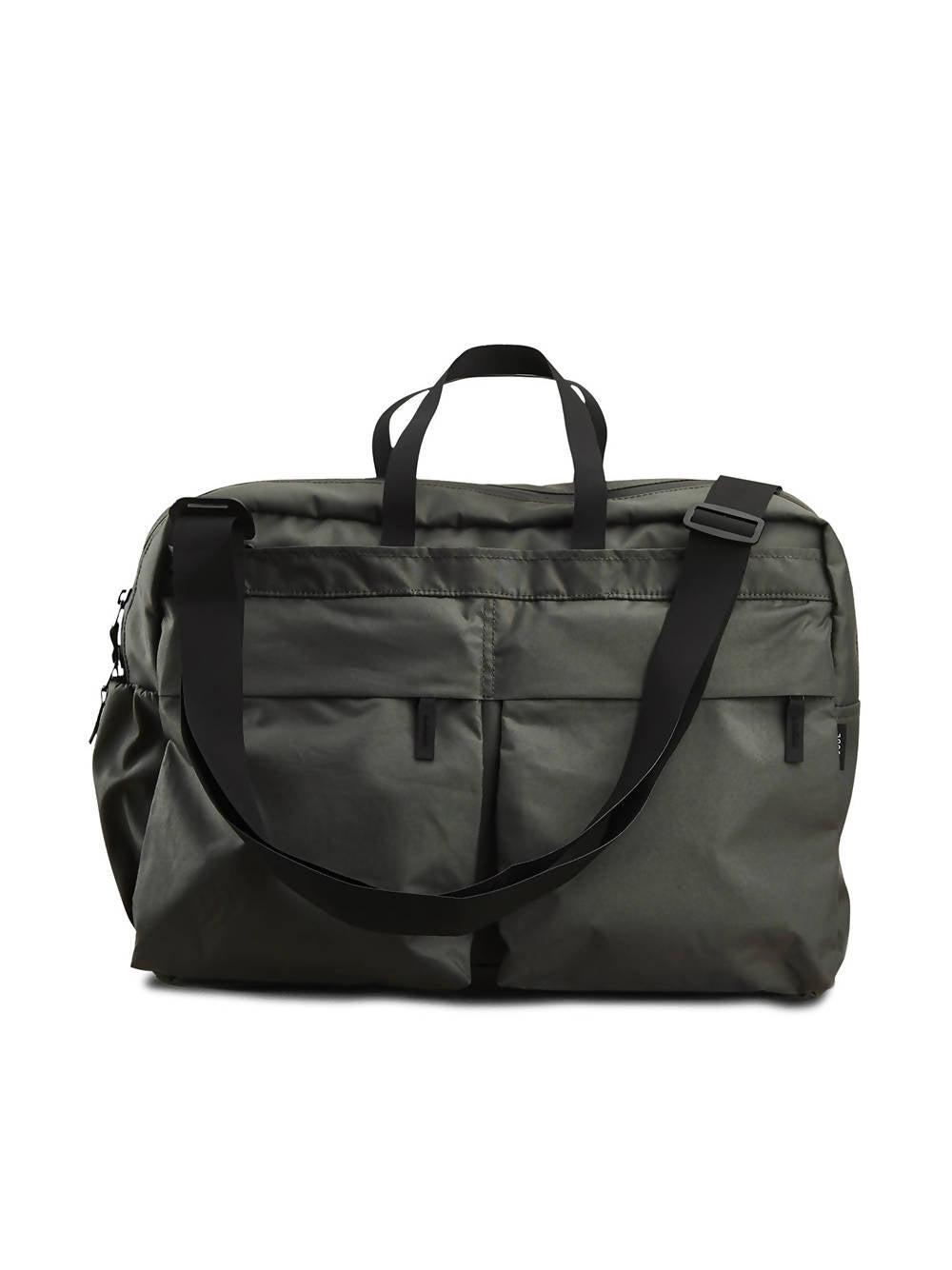 PSSBL THE COURIER BAG DUSTY BLACK