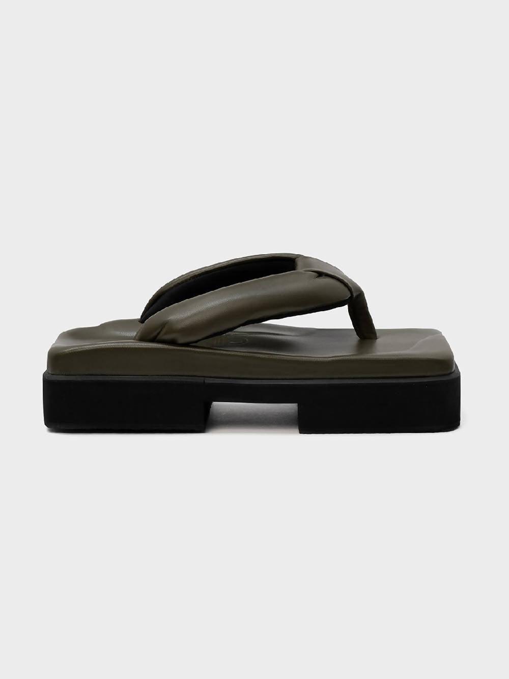 Sinobi GETA DOUBLE KHAKI Sandals