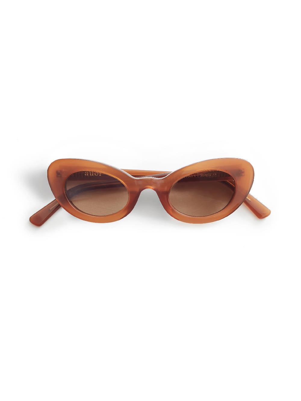 Auor Sunglasses Rosetta Walnut Brown