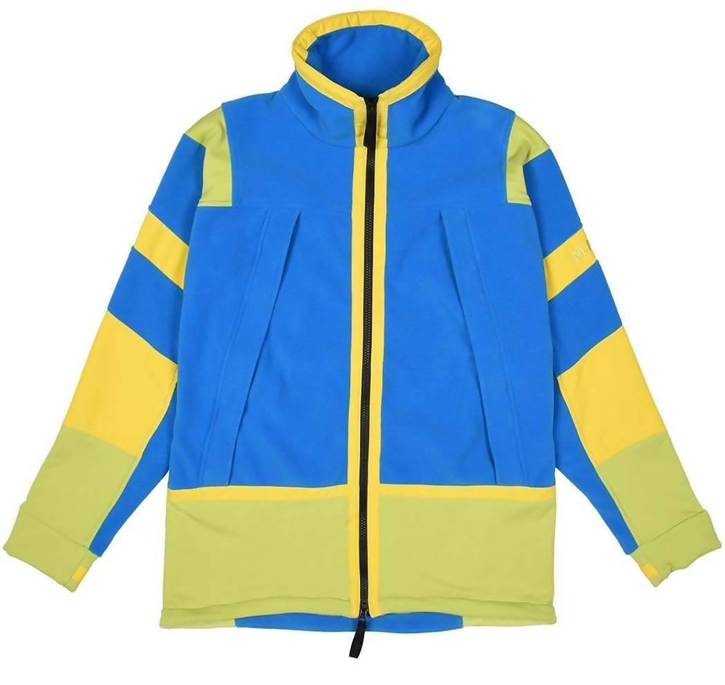 MAKE BLUE GREEN YELLOW Leopold Jacket