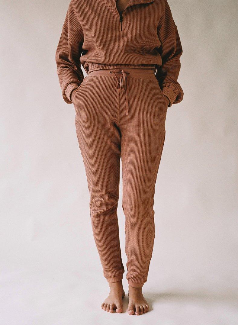 Aniela Parys Terracotta Organic Helios Trousers