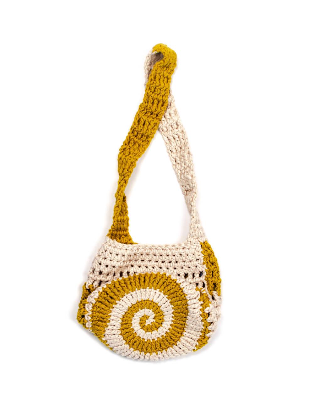 PAR CIELLE Pearl Sap Swirly Bag