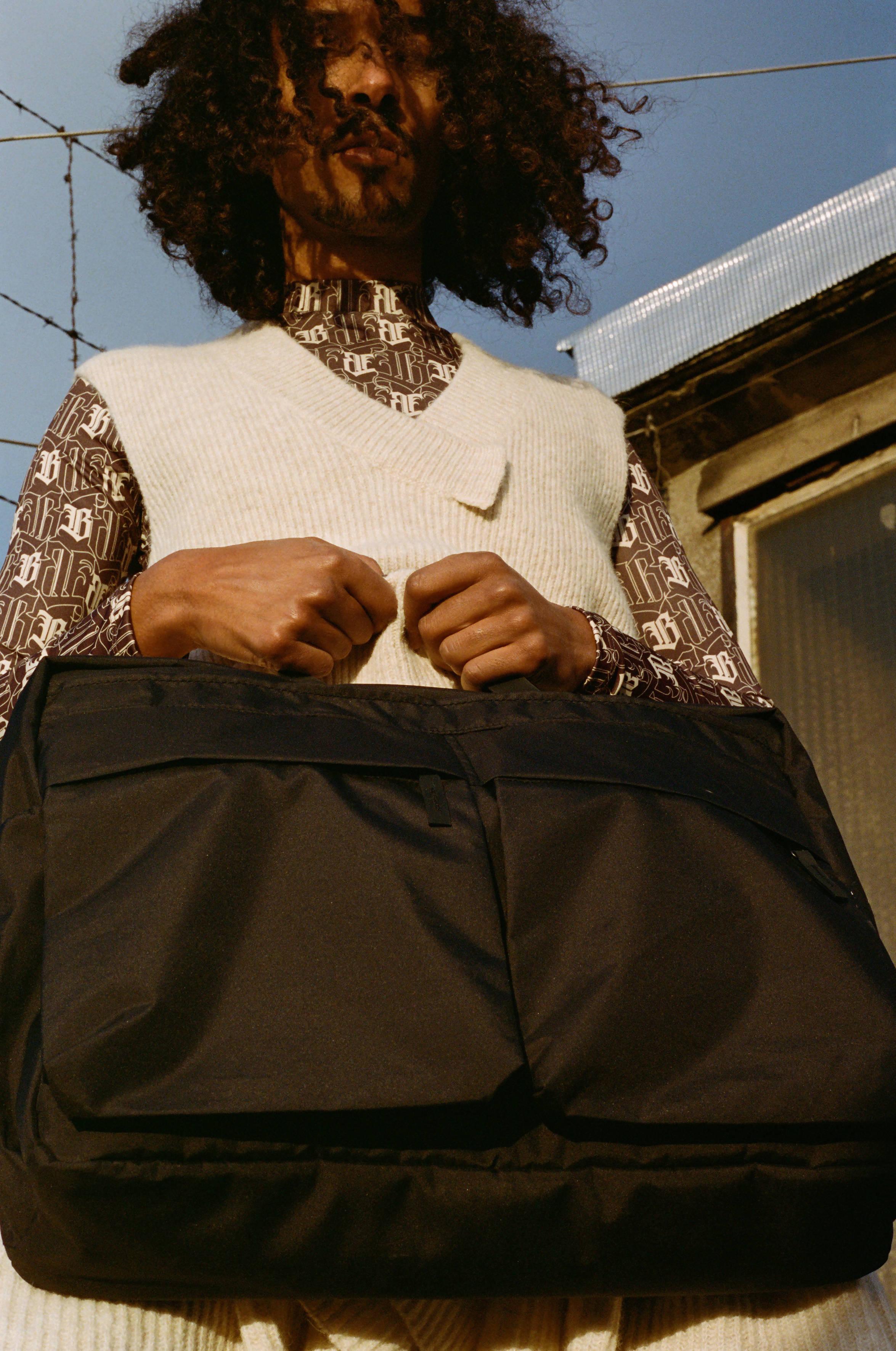 Pssbl PSSBL THE COURIER BAG BLACK