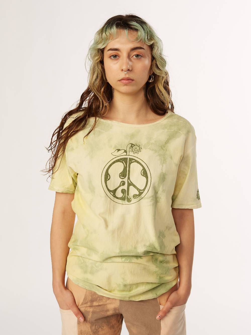 E A Williams Naturally Dyed Chlorophylln T-shirt