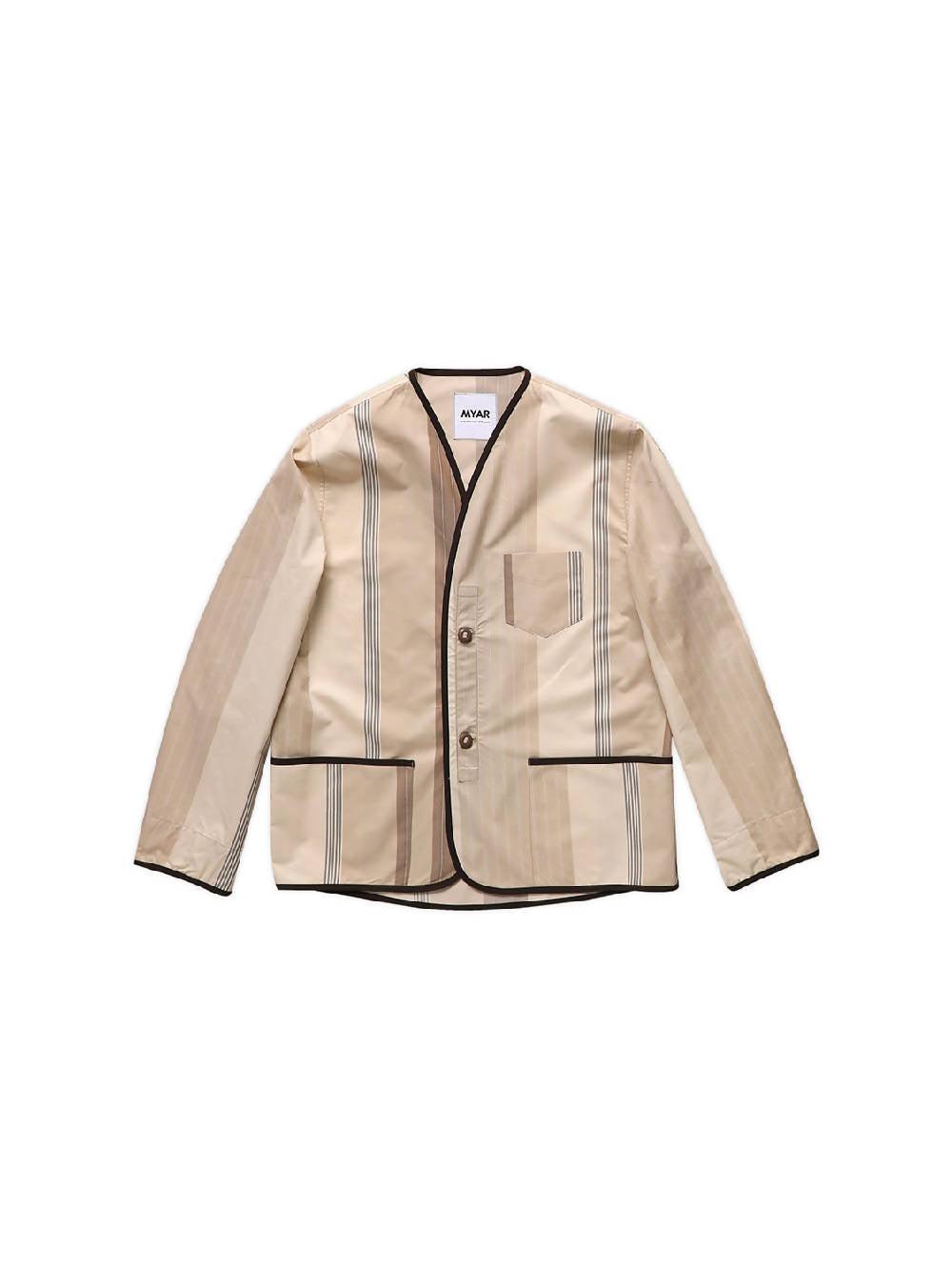 Myar Beige MYLN1 Patch Jacket