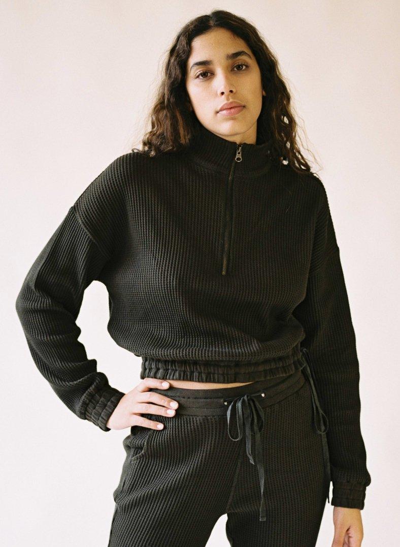 Aniela Parys Organic Black Earth Sweatshirt