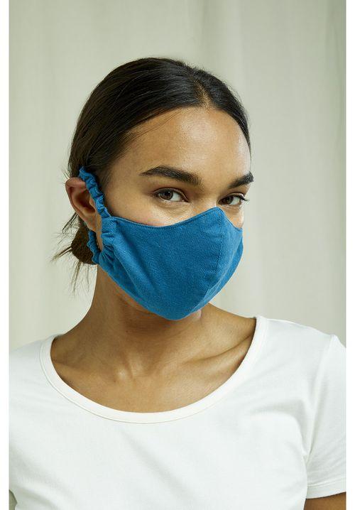 Protective Mask Plain Turquoise