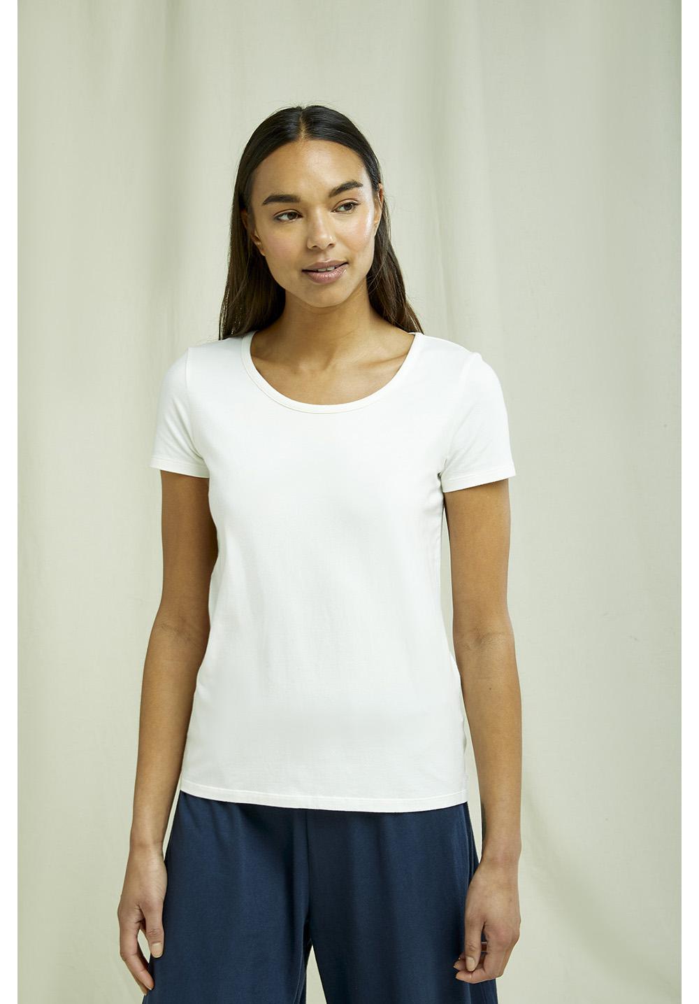 Gaia Tee in White