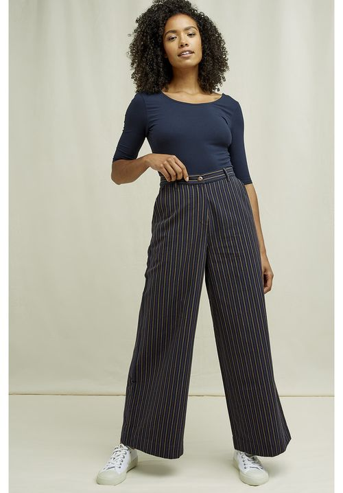 Mila Striped Trousers