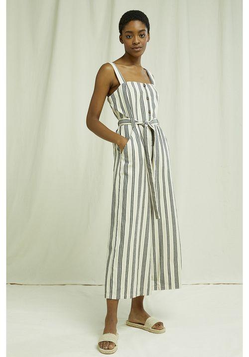 Rena Striped Jumpsuit