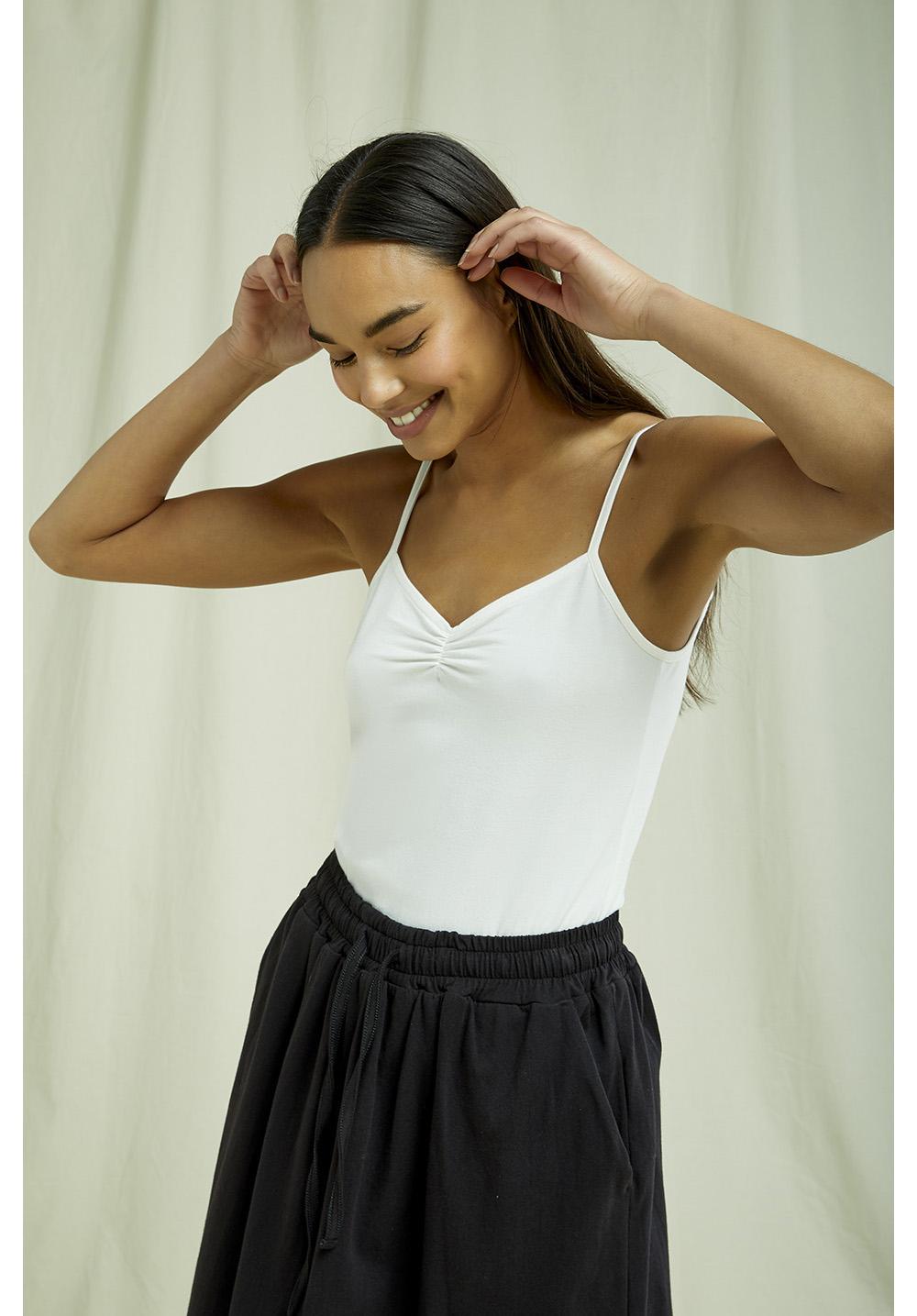 Jemma Camisole Top in White