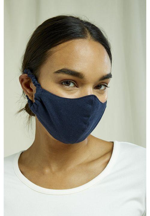 Protective Mask Plain Navy