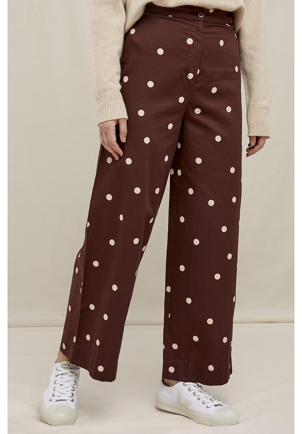 Ailsa Polka Dot Trousers