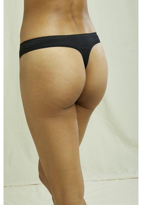 Thong in Black