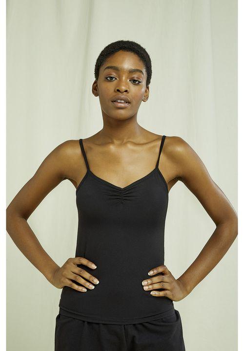 Jemma Camisole Top in Black