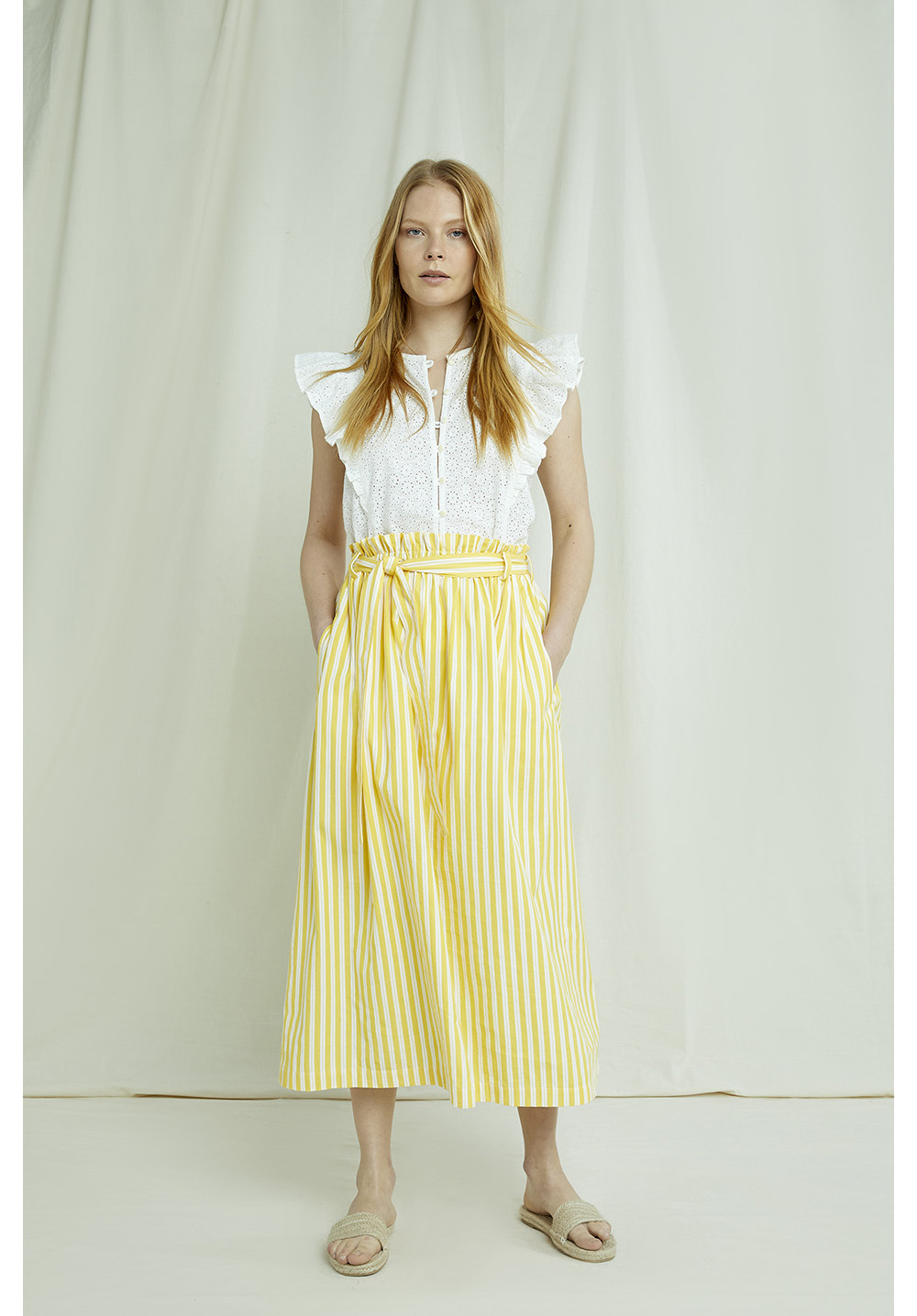 Betty Striped Skirt