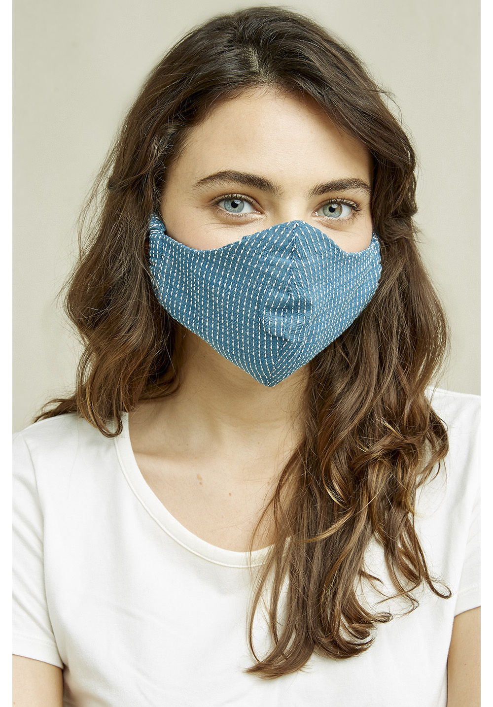 Protective Face Mask In Blue