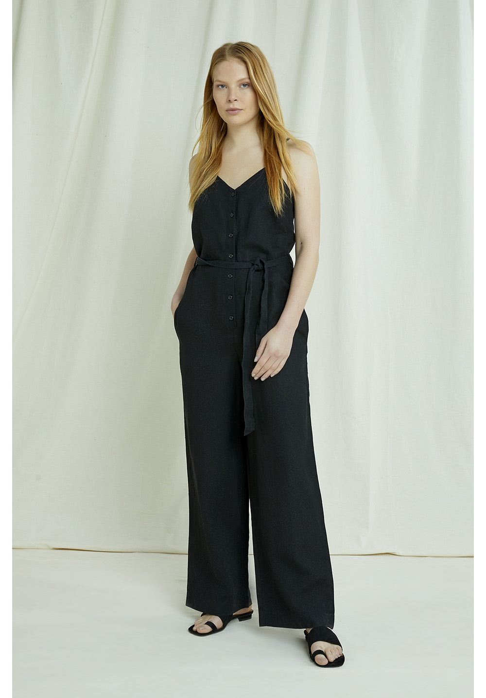 Clara Linen Jumpsuit