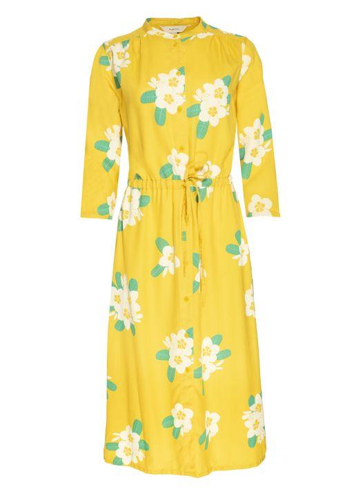 Savannah Plumeria Shirt Dress