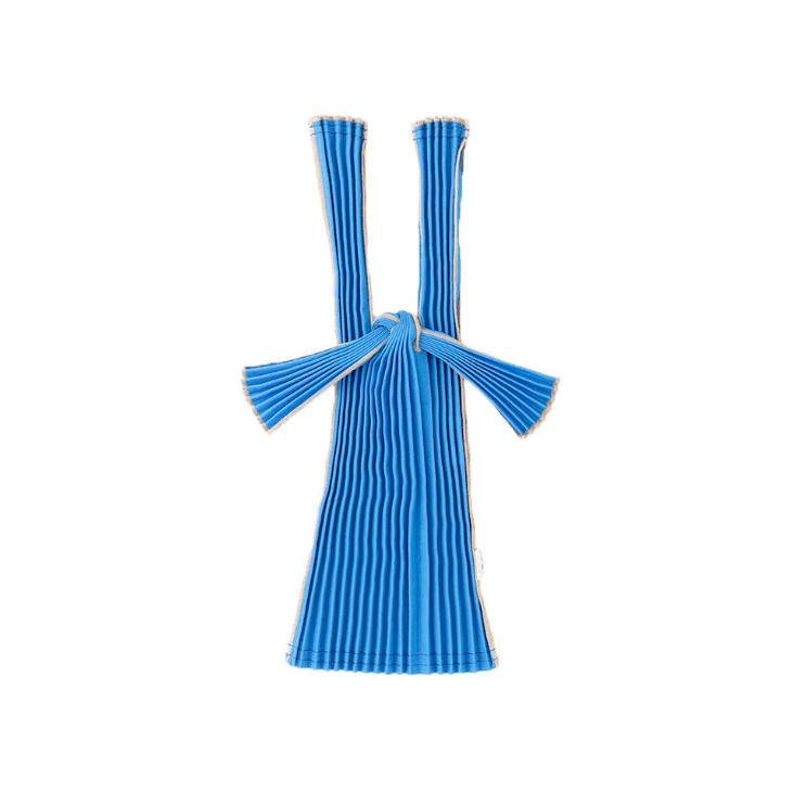 Kna Plus Tate Pleats- Mini Blue Bag
