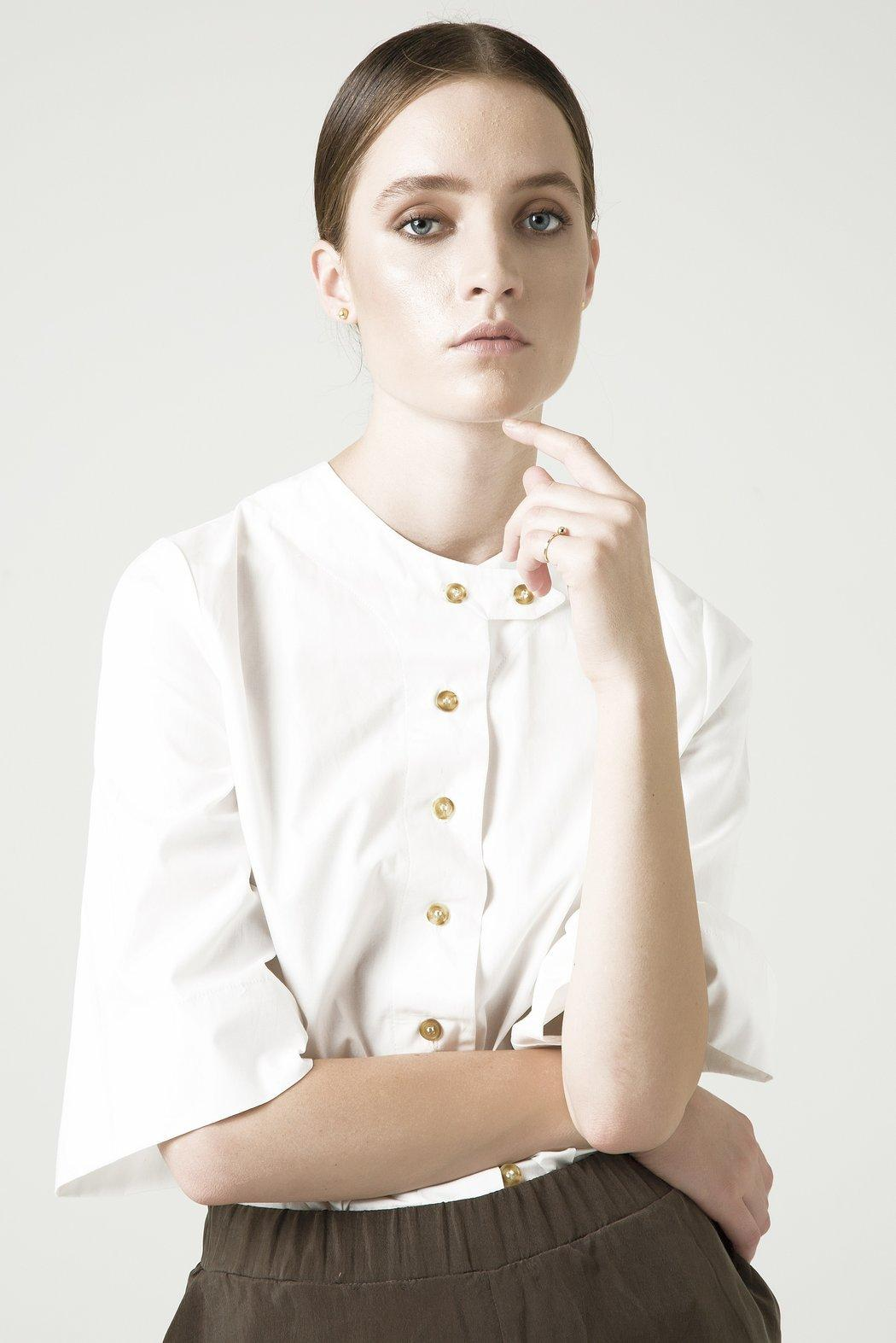 Organic Holly White Shirt