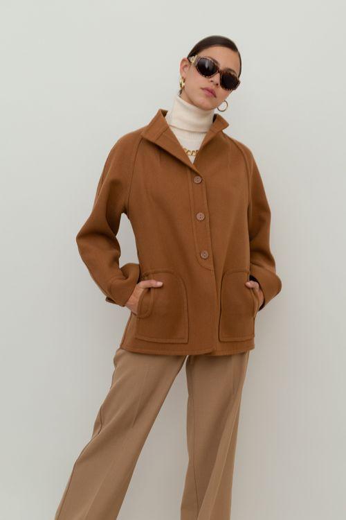 Light vintage wool jacket
