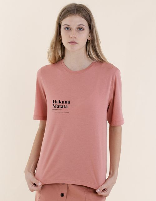 Rebello Mary T-Shirt with print