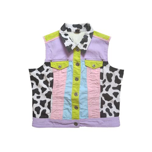 """""""Cowgirl"""" Hand Painted Vest"""