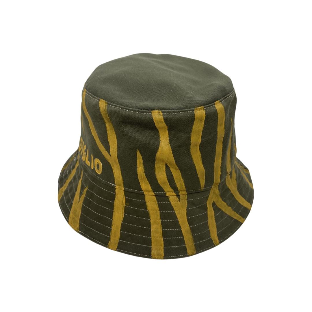 YELLOW TIGER BUCKET HAT