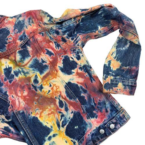FLVTRN Archives Carnage denim jacket.