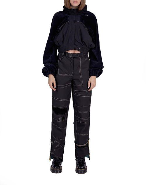 two pants = cowl/snood hoodie
