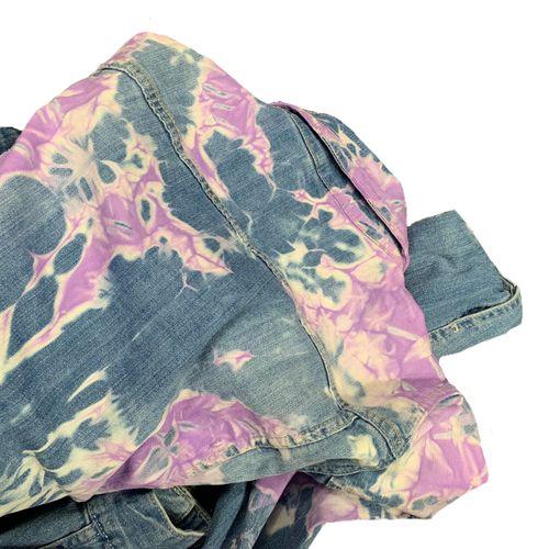 FLVTRN Archives Bubblegum denim jacket.