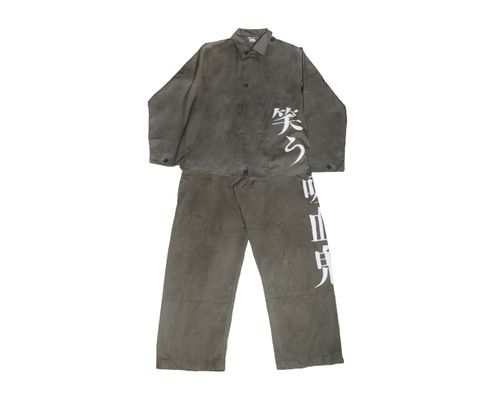 Warau Kyuuketsuki Worker Suit