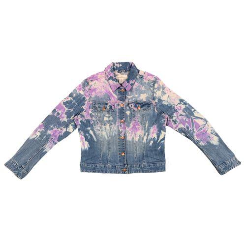Bubblegum denim jacket.