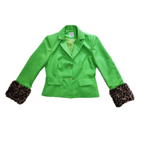 """Green Diva"" Blazer"