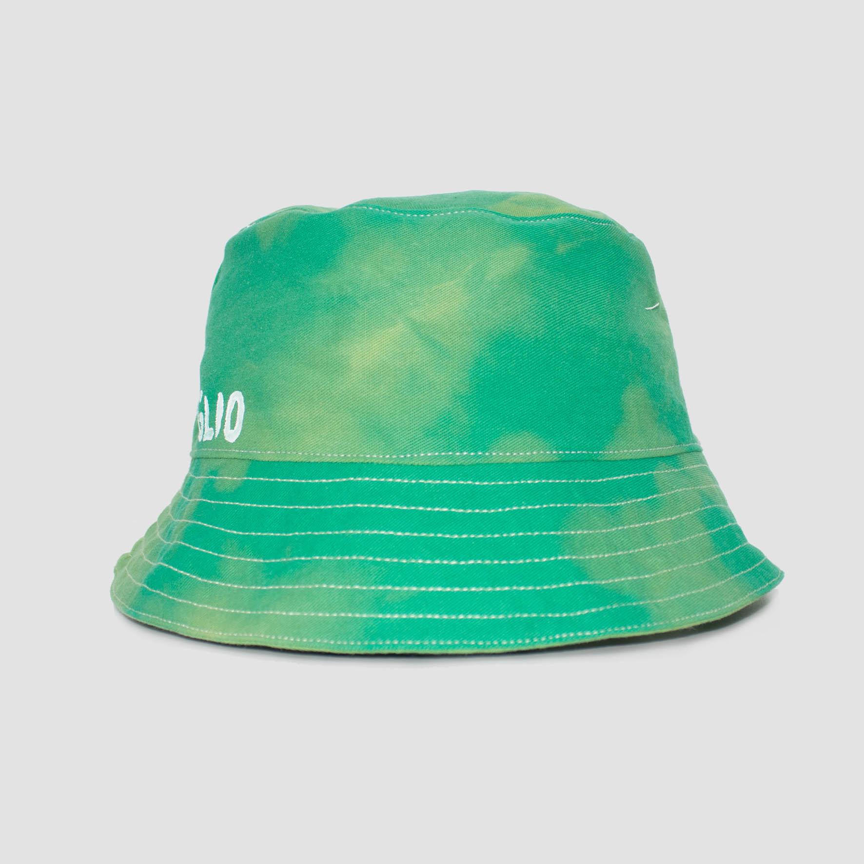 Giglio Tigrato GREEN BUCKET HAT