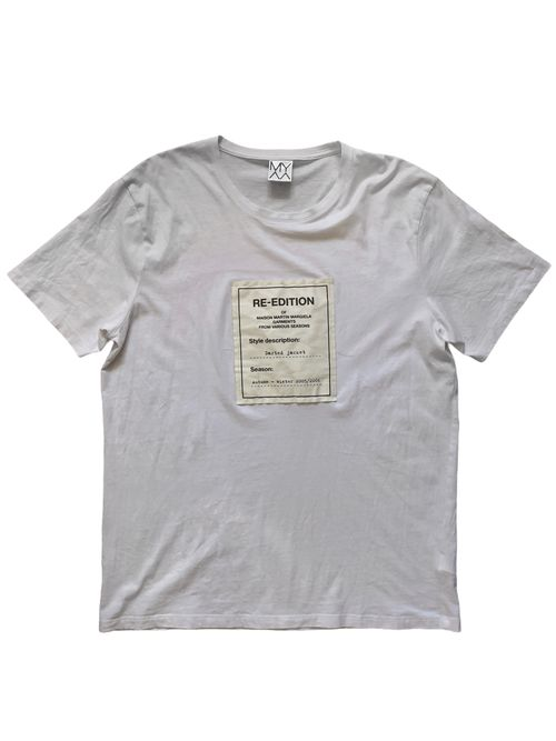 Re-Edition Of MMM White Tee