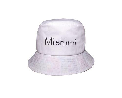 Playful White Bucket Hat