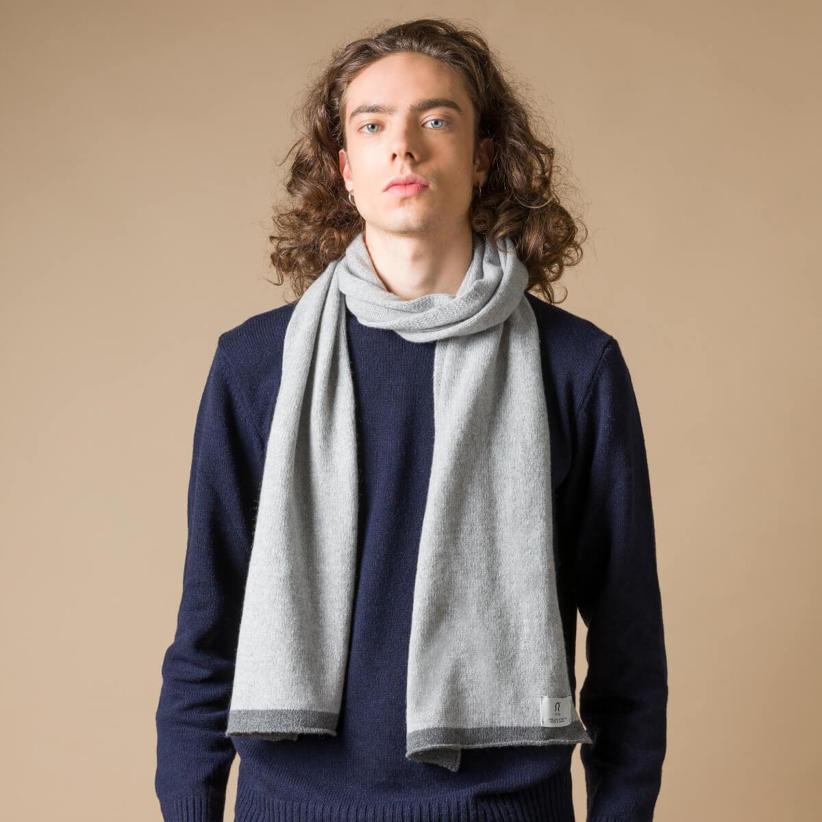 Recycled Cashmere Scarf Luchino