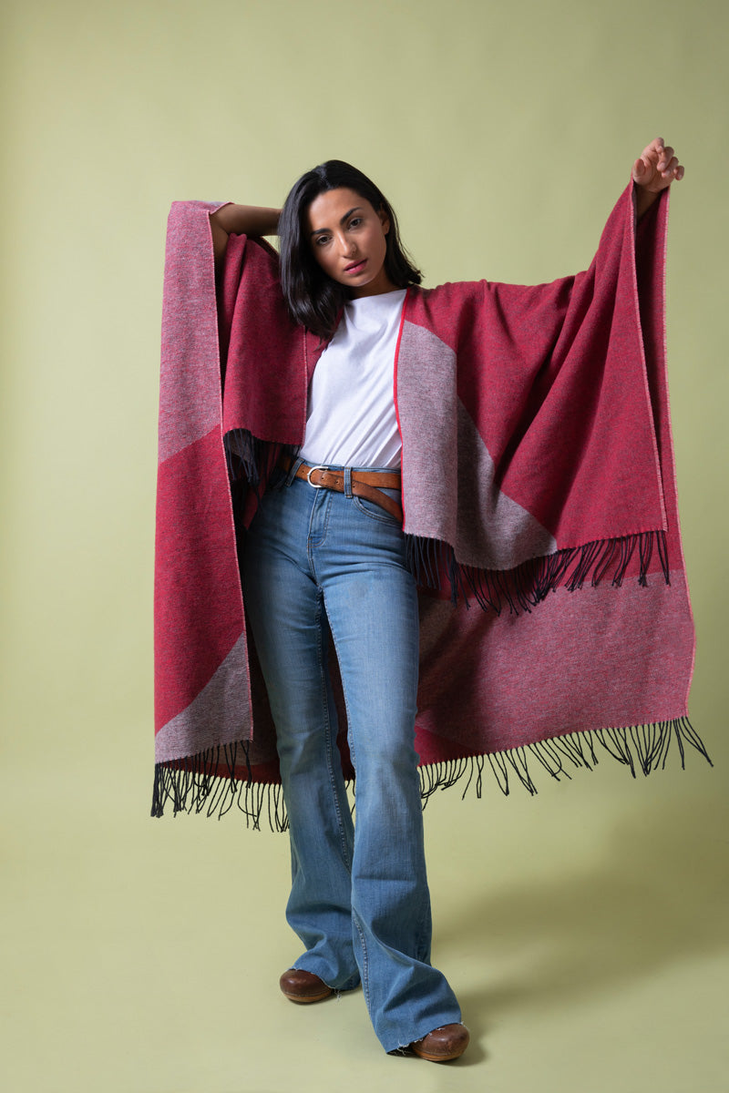 Recycled Cotton Cape Ennio