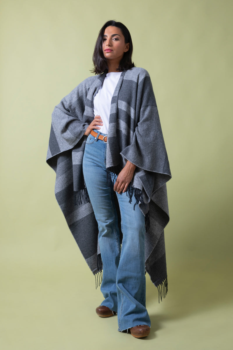 Recycled Cotton Cape The Bad