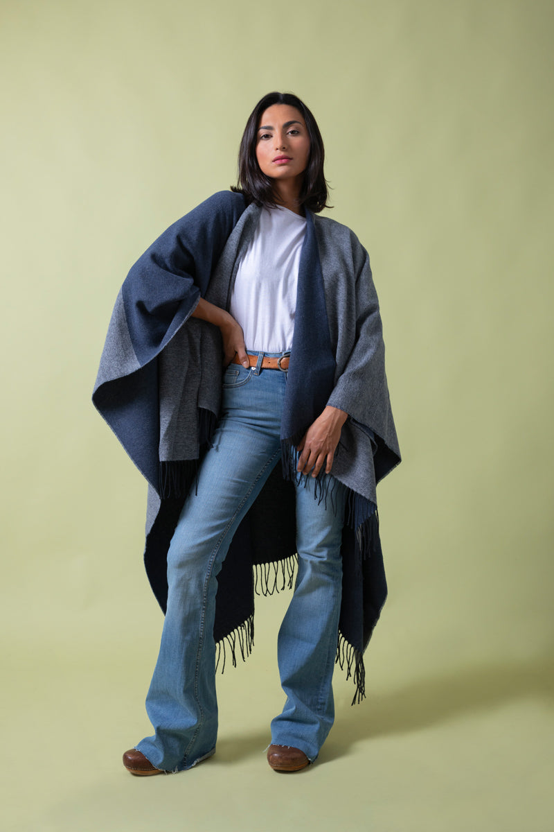 Recycled Cotton Cape The Good